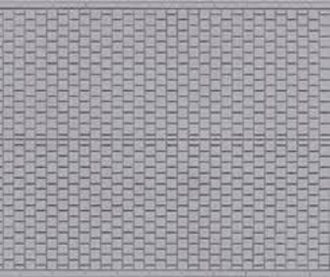Декоративная плитка - 10х20 см.
