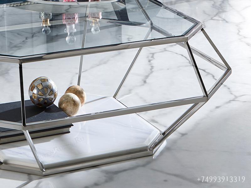 Журнальный стол DUPEN CT-235 Прозрачный
