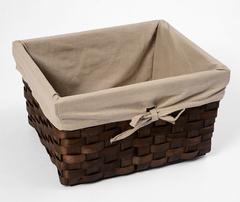 Плетеная корзина для ванной WasserKRAFT Berkel WB-480-M