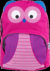 Рюкзак детский Redfox Owl малиновый - 2