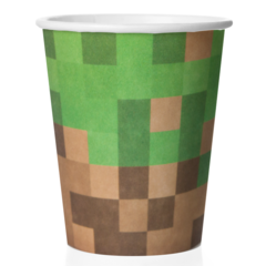 Стаканы Пиксели, 250мл, 6 шт.