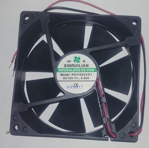 Вентилятор QUATTRO ELEMENTI 92х92х25мм (12В 0,8A) B145 (30712052)