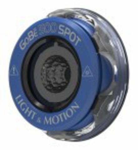 Головка фонаря Light and Motion GoBe 500 Spot синяя