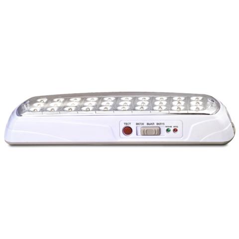Аварийный светодиодный светильник с аккумулятором ML- 118-30LED 1.8
