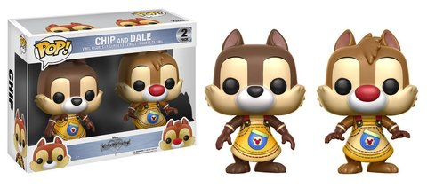 Фигурка Funko POP! Vinyl: Games: Kingdom Hearts: 2PK Chip&Dale 12366