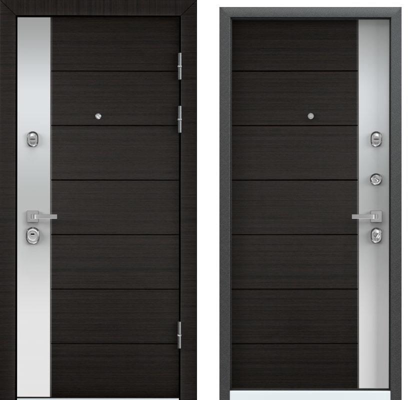 Входные двери с шумоизоляцией Torex Professor 4+ NEO-3 венге поперечное с двух сторон generated_image-2.jpg