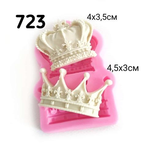 0723 Молд силиконовый. Короны.