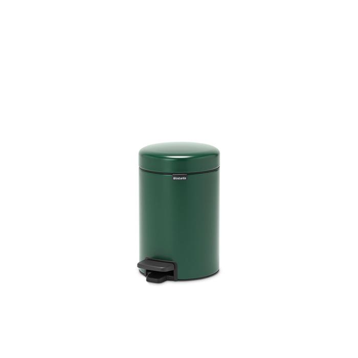 Мусорный бак newIcon (5 л), Зеленая сосна, арт. 304026 - фото 1