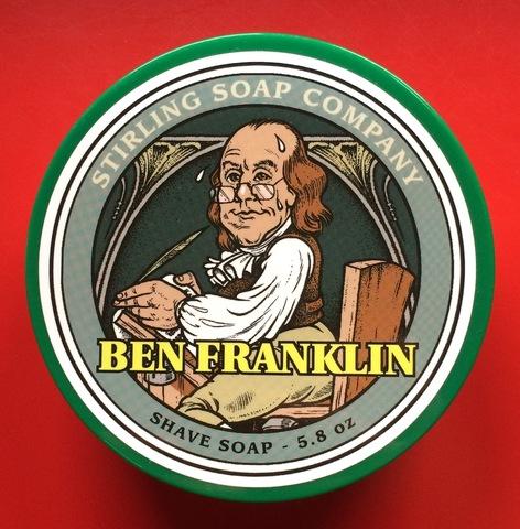 Мыло для бритья Stirling Ben Franklin 170 мл