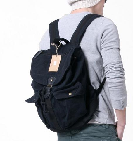 Винтажный рюкзак из ткани Virginland VIR-66