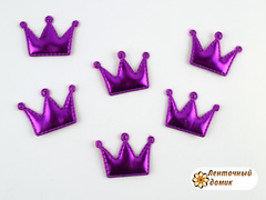 Мягкие короны средние малиновые № 1