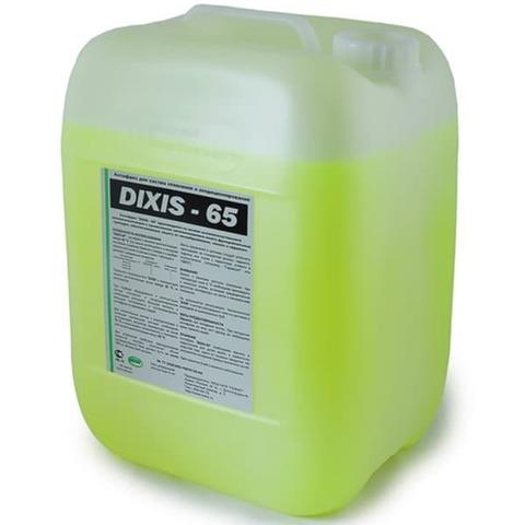 DIXIS-65 10 л этиленгликоль теплоноситель антифриз