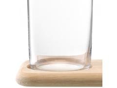 Набор из кувшинов для вина и воды на деревянной подставке, 1.2 л/1.4 л, фото 6