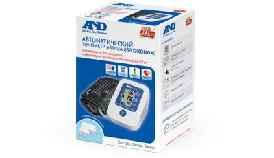 Автоматический тонометр A&D UA-888ЕAC (Эконом)