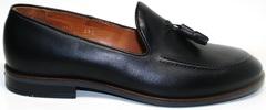 Туфли мужские черные Ikoc 010-1
