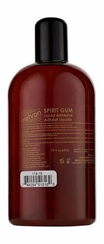 MEHRON Сандарачный клей Spirit Gum, 480 мл