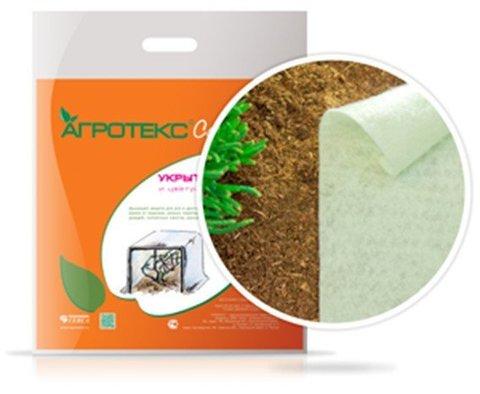 Укрывной материал Агротекс 60 г/м Ш 3,2м Д 10м (белый)