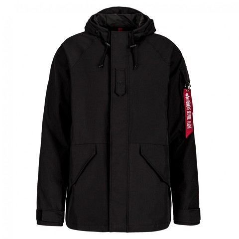 Куртка Alpha Industries  ECWCS Gen I Parka Mod Black (Черная)