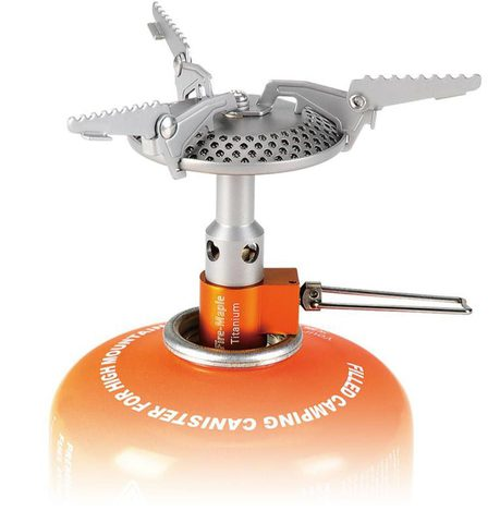 Картинка горелка туристическая Fire-Maple Heat Core FMS-116T титановая  - 2