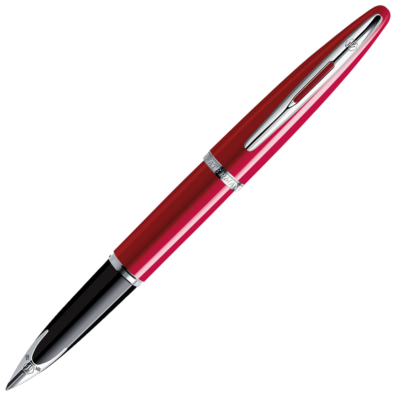 Waterman Carene - Glossy Red ST, перьевая ручка, F