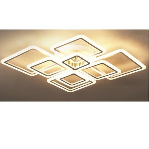 Потолочная светодиодная люстра CX-8035/4+4 WH ML