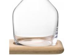 Набор из кувшинов для вина и воды на деревянной подставке, 1.2 л/1.4 л, фото 7