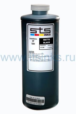 Пигментные чернила STS для HP Matte Black 1000 мл