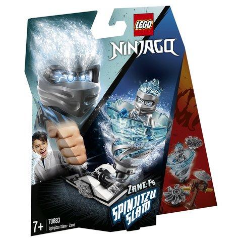LEGO Ninjago: Бой мастеров кружитцу - Зейн 70683 — Spinjitzu Slam - Zane — Лего Ниндзяго