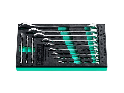 Набор комбинированных гаечных ключей 12 шт, 6 - 22 мм, KRAFTOOL