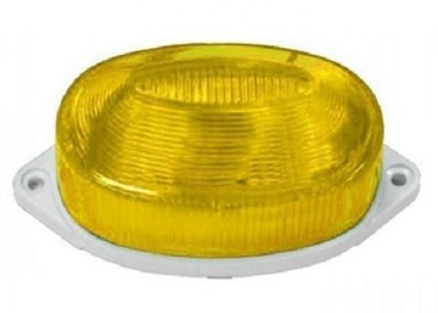 Строб лампа накладная ксеноновая желтая