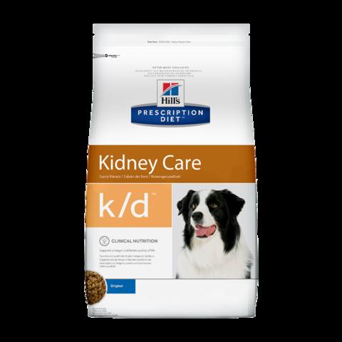 Hill's Prescription Diet K/D Сухой диетический корм для собак при заболеваниях почек