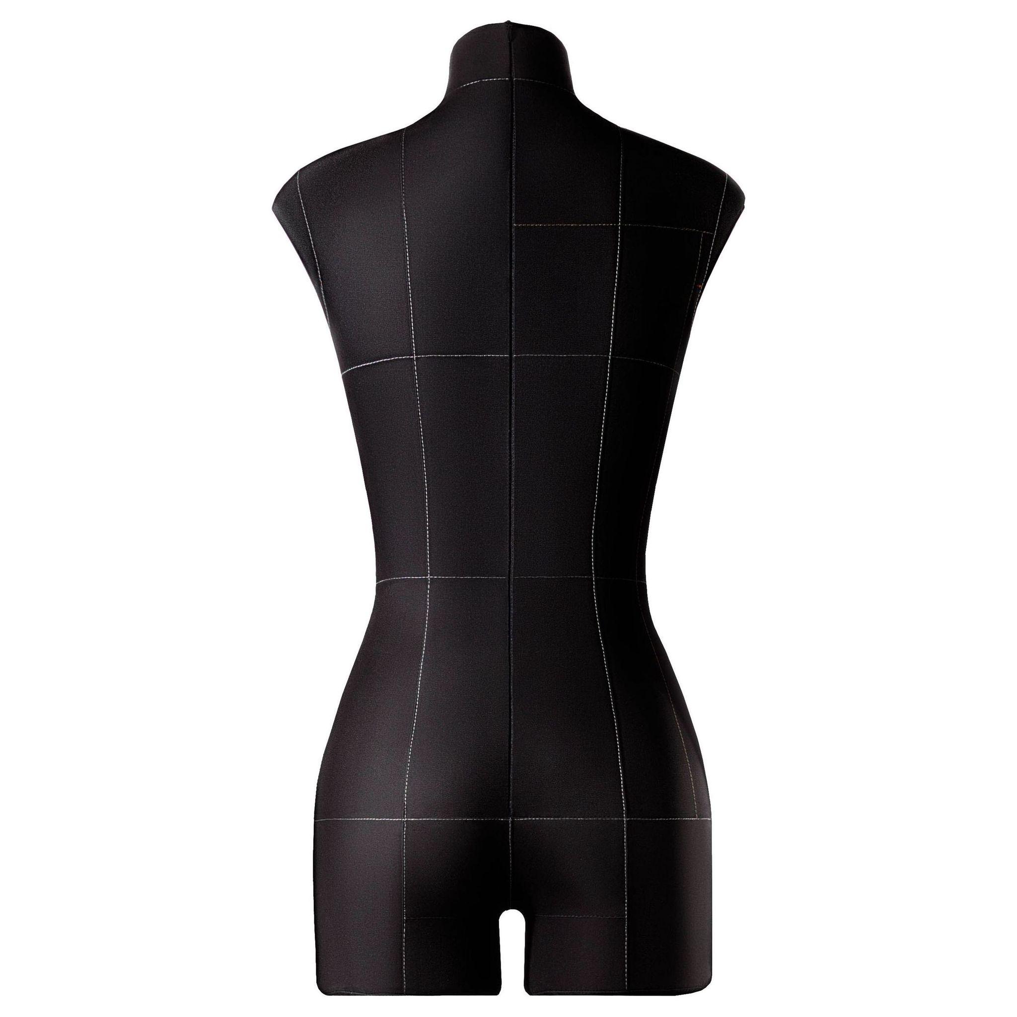 Манекен портновский Моника, комплект Про, размер 40, ЧерныйФото 2