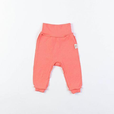 Ruffled leggings 0+, Peach