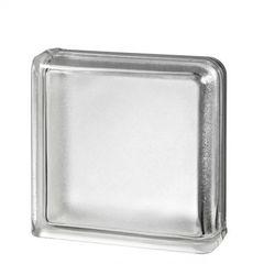 Купить завершающий стеклоблок бесцветный Арктик Vitrablok   19x19x8 в Краснодаре
