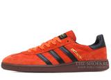 Кроссовки Мужские Adidas Spezial Orange Black Brown