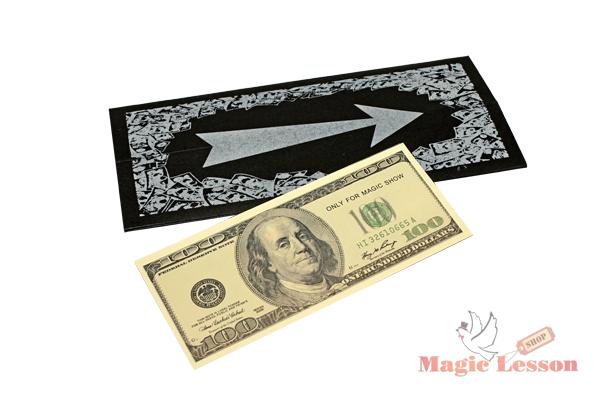 Фокус денежный конверт