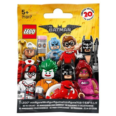 LEGO Minifigures: Минифигурки Batman Movie серия 1 в ассортименте 71017 — Minifigure The LEGO Batman Movie Series 1 Complete Random Set of 1 Minifigure — Лего Минифигурки