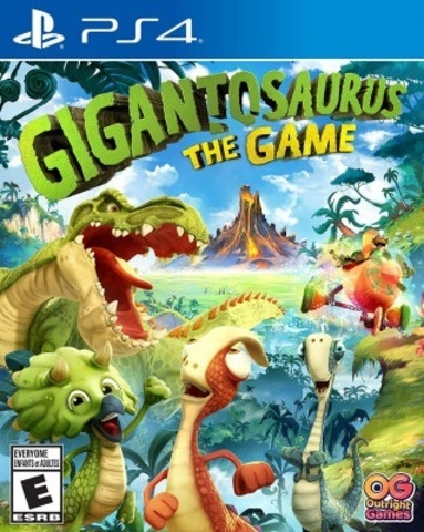 Gigantosaurus: The Game (PS4, русская версия)