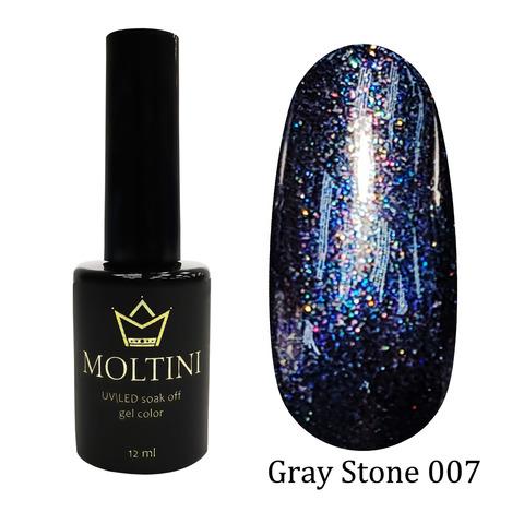Гель-лак Moltini Gray Stone 007, 12 ml