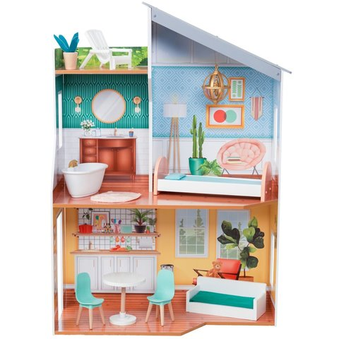 KidKraft Эмили - кукольный домик с мебелью 65988_KE