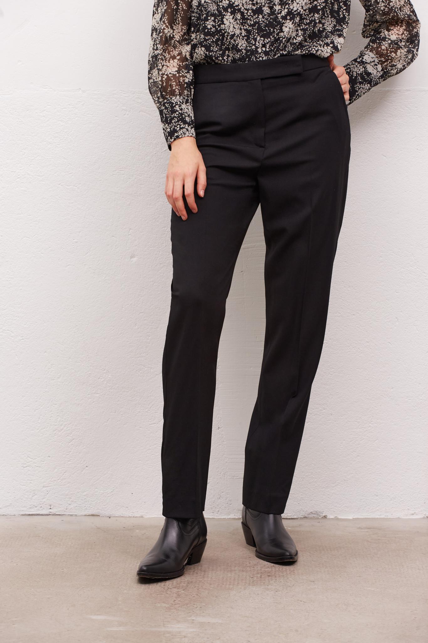 ELISA - Прямые брюки из вирджинской шерсти
