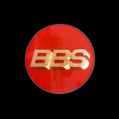 Крышка центрального отверстия BBS 70.1 мм gold/red
