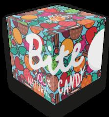 Bite набор батончиков Candy 120 гр голубой