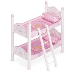 DeCuevas Кроватка для куклы двухъярусная серии