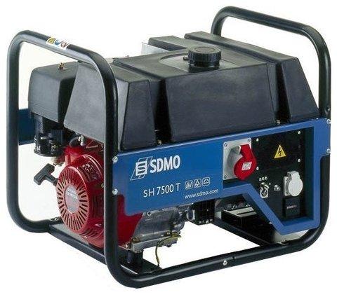 Кожух для бензиновой электростанции SDMO SH7500T C