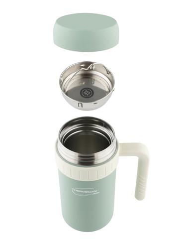 Термос ThermoCafe by Thermos DE (0,5 литра) с ситом, зеленый