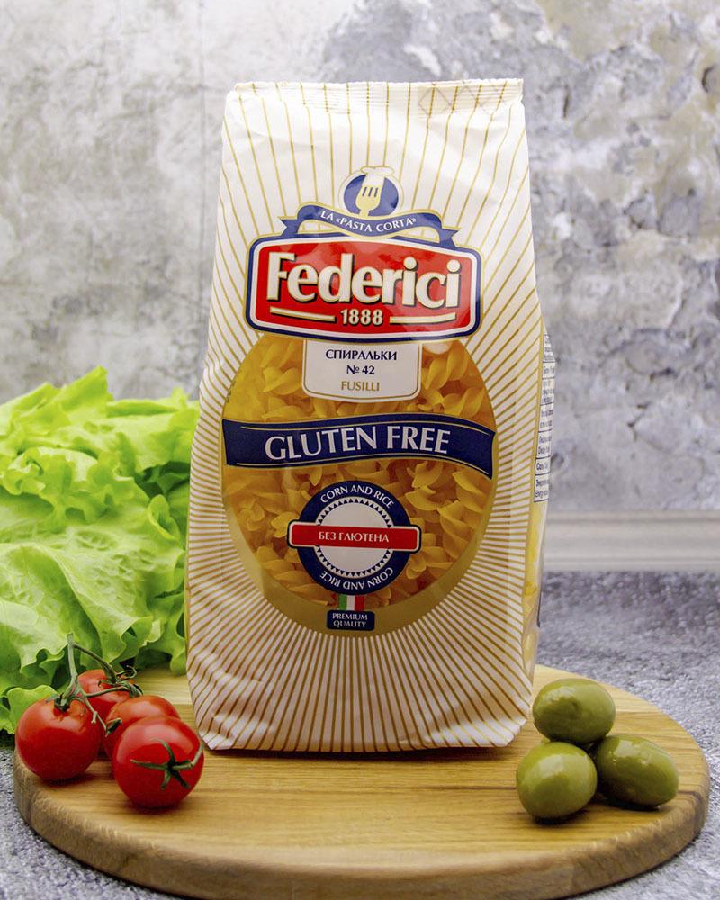 Fusilli gluten free Federici 400 gr.