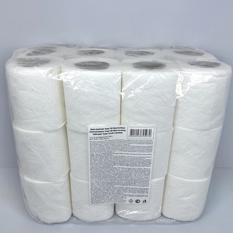 Туалетний папір Fesko Standart 2сл. (24 шт.) біла (Т5070)