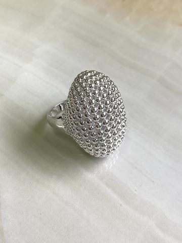Кольцо Дакааба, серебряный цвет