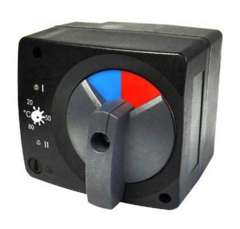 Сервопривод Stout SVM-0005-230017 для смесительных клап. с датчиком для фик. рег. температуры